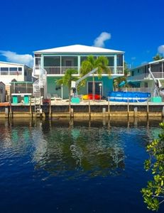 Photo for Freshly Remodeled, Open Layout, Key Largo Home on the Canal, Ocean Side