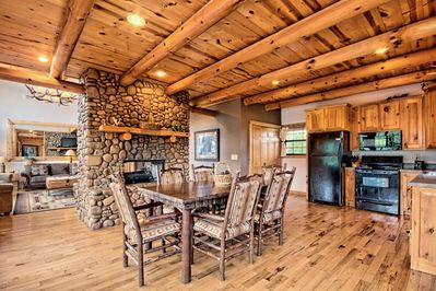 An open floor plan for all to enjoy.