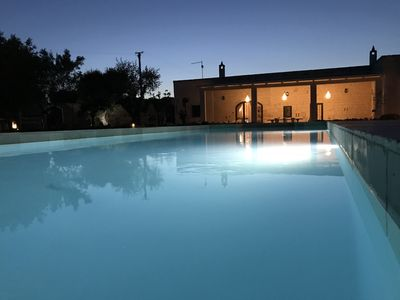 Photo for LUXURY PUGLIESE FARMHOUSE VILLA WITH POOL, OSTUNI (10% OFF SEPT/OCT 2019)