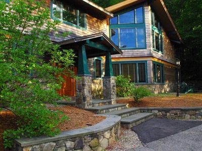 Photo for Exceptional property right on Loon Mountain Includes use of Mtn Club pool & spa