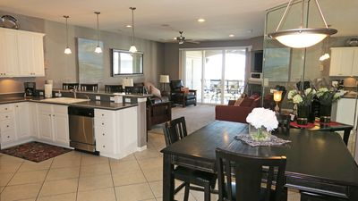 Large, open floor plan in this executive level condo