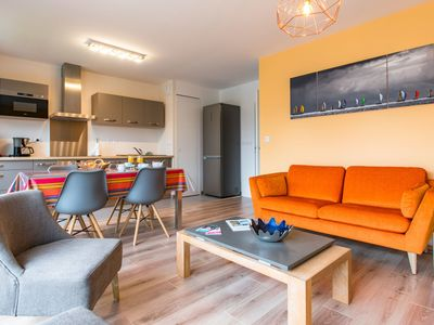 Photo for Beautiful apartment for 2 people with WIFI, TV, balcony and parking