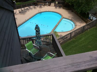 Photo for $179 End of Summer Special! Pool View, Hot Tub, and Tennis Courts! ♥