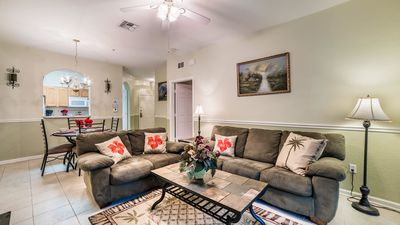 Photo for How to Rent Your Own Luxury Holiday Apartment minutes from Disney on Windsor Hills Resort, Orlando Condo 1889