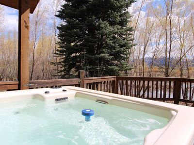 Photo for Lakefront Mountain View, Private Hot Tub and WiFi in McCall