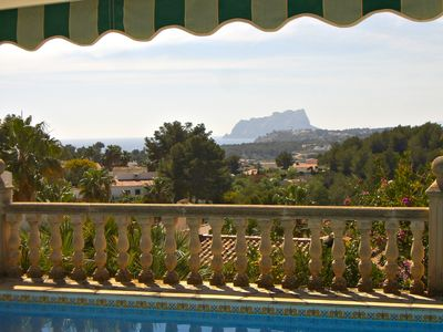 Photo for Cozy villa  and with beautiful panoramic and sea views, private pool