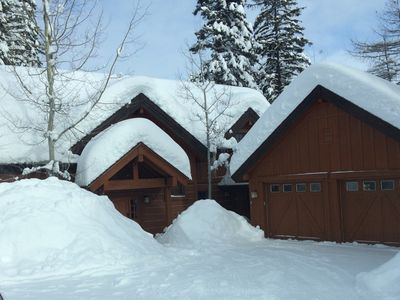 Photo for Tamarack Idaho Chalet Available for Christmas 2017