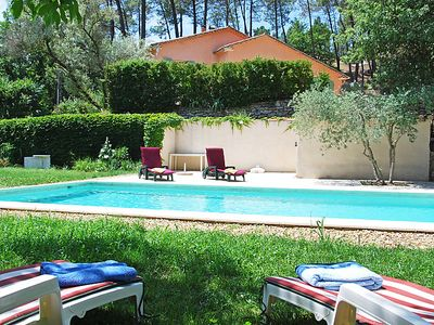 Photo for Vacation home Les Ecureuils in Gordes - 7 persons, 3 bedrooms