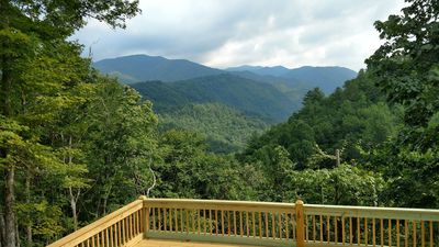 Photo for *NEW* Serene, Tranquil, Mountain Retreat, With Awesome View of Nantahala Gorge
