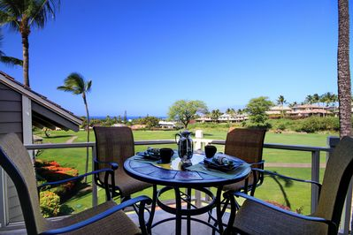 Enjoy your Breakfast and an Unobstructed View down the Fairway to the Ocean