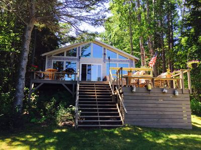 Photo for Oceanfront Maine Acadia Cottage