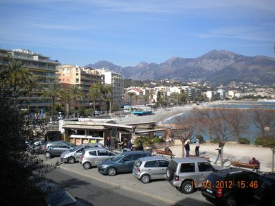 Photo for Apartment Roquebrune-Cap-Martin for rent, apartment, 4 people, facing the sea