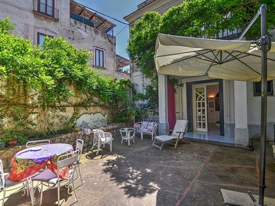Photo for Villa Solidea A: A cozy two-story apartment that is part of a villa immersed in a splendid landscape, in the heart of a wonderful little town, with Free WI-FI.