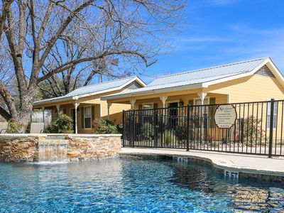 Photo for Absolutely Charming Main St Retreat Social Goat, King Bed, Hot Tub/ Pool Access!