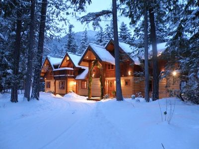 Photo for Drumkeeran House - Magnificent Lakefront and Mountain Log Lodge - 5 Star Luxury