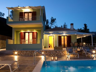Photo for Horizon Luxury Villas  with private pool and amazing sea view