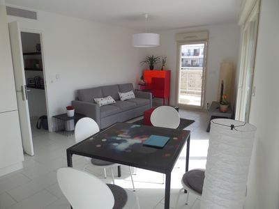Photo for Internet, 65 sqm, New, 2 bedrooms, large balcony, 2 toilets ..