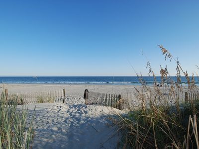 Photo for 2 bedroom oceanfront condo, pet friendly, outdoor swimming pool, WIFI!!