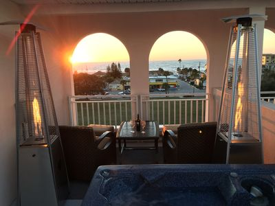 Photo for 5 Story Townhome, Private Elevator, Hot Tub, Breathtaking Views, Steps to Beach