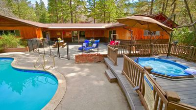 Photo for Timberwolf walk to town, pool and spa! Amazing views. Escape from it all