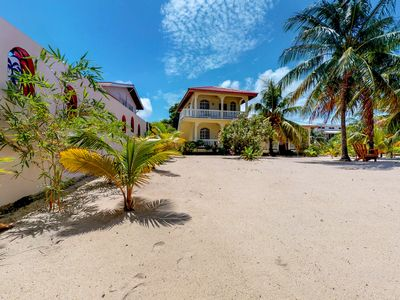 Photo for Two peaceful cabanas right in town with ocean views and nearby beach!
