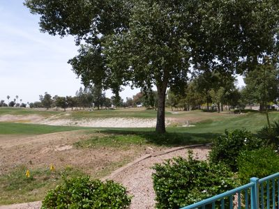 Photo for April 7 & After Avail. - Superstition Lakes Golf Condo with Golf Course Views!