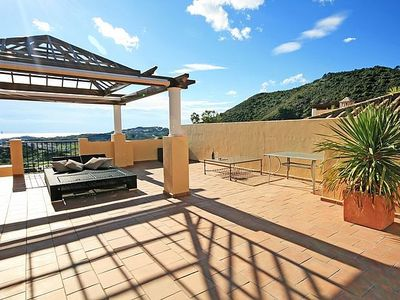 Photo for Two Bedroom Penthouse Apartment With Large Roof Terrace And Communal Pools