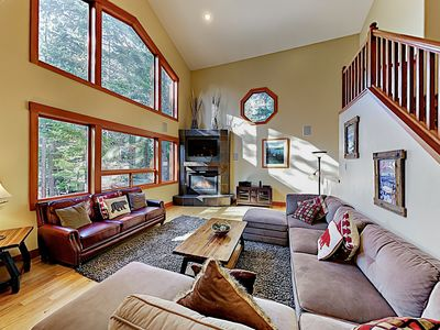 Photo for Custom Luxury Chalet: Game Room, Chef's Kitchen & 3 Fireplaces -- Near Slopes