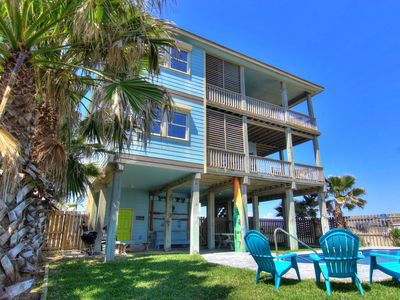 Photo for Walk to the Beach from this Sunny 2BR Port A Duplex!