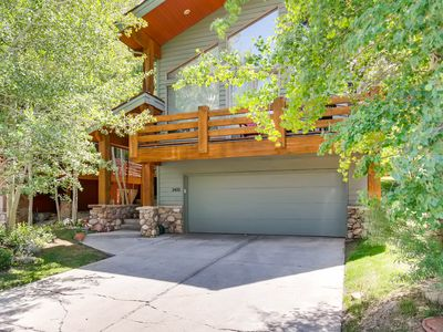 Photo for Mountain home w/ private hot tub - less than a mile to Deer Valley!