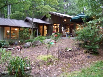Come into my home and enjoy the nature surrounding it and love it as I do.