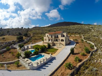 Photo for Faethon and Aeolos eco-stone villas with amazing sea view