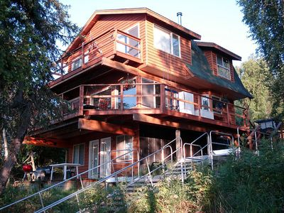 Photo for Kenai Riverfront Chalet Centrally Located on the Kenai Peninsula