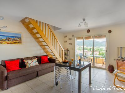 Photo for Welcoming 2 bedroom with sea view - Dodo et Tartine