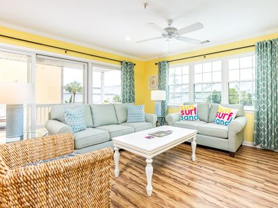 Relax and Enjoy the Beach! Pet Friendly Condo Only 50 Yards to the Beach