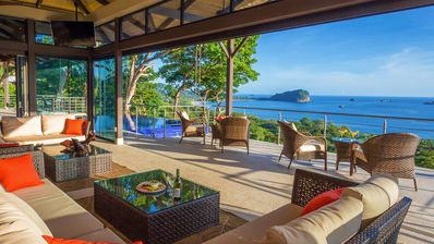 Living Room Overlooking Paradise!
