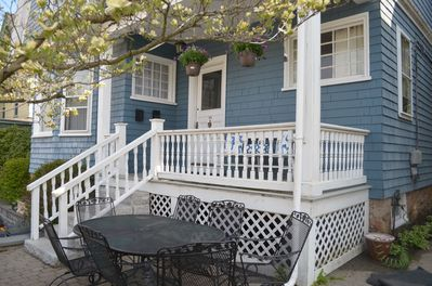 Outdoor patio and porch are a great spot for relaxing