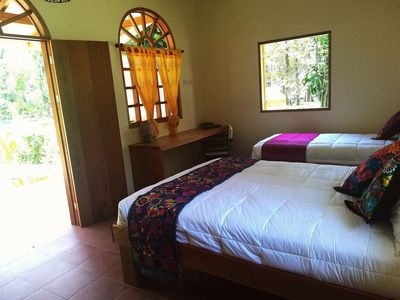 Photo for Mexican colonial style cozy bungalow. 300 meters from the beach