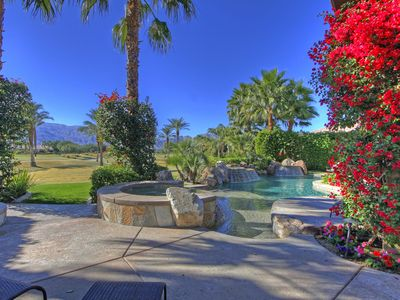 Photo for 148LQ LUXURY 4336 SQ FT PGA WEST HOME NICKLAUS TOURNAMENT COURSE WITH POOL & SPA ALSO FIRE PIT