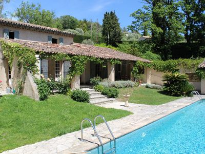 Photo for Charming Villa and Apartment near Valbonne Village
