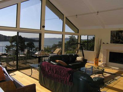 gorgeous panoramic San Francisco Bay views from every room.
