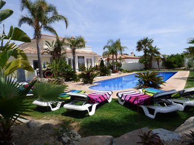Photo for Villa Harley with large pool 14 people