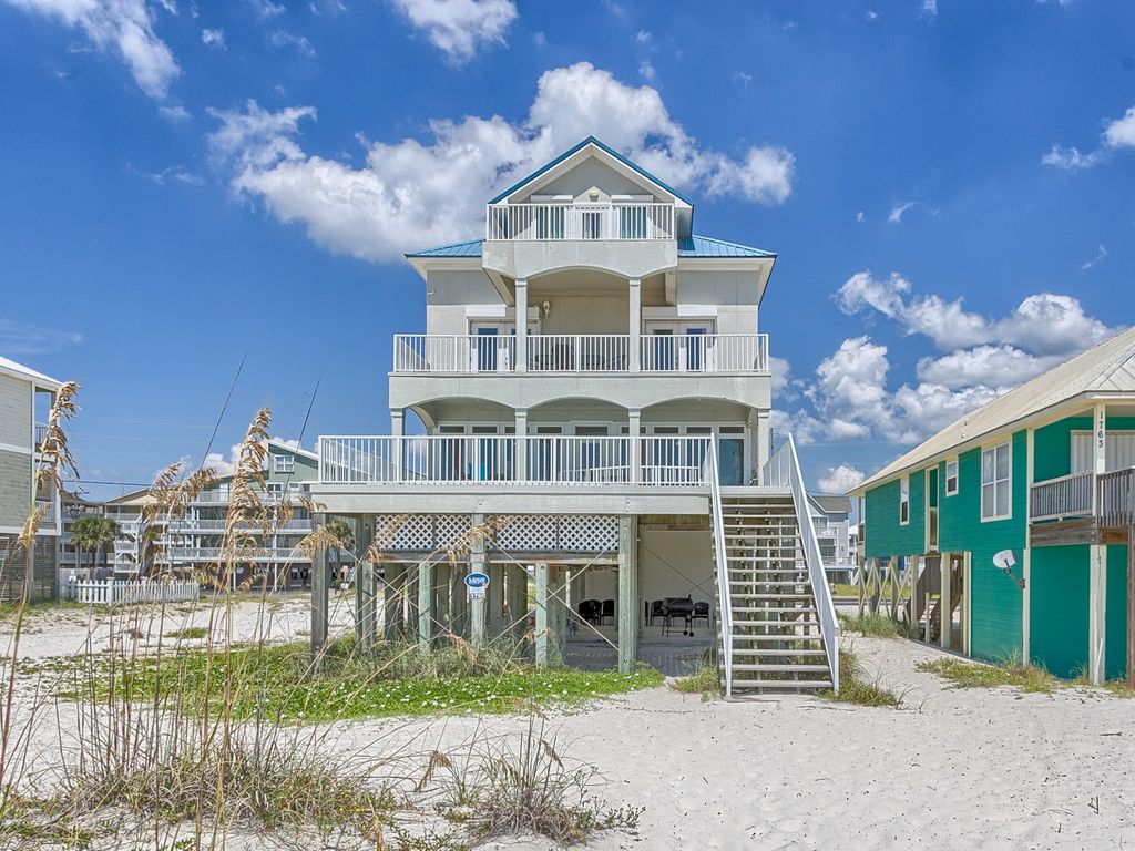 Bella bleu gulf shores gulf front vacation homeaway for 3 bedroom condos in gulf shores al