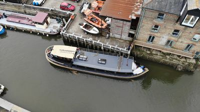 Photo for Holiday on Kent's ONLY Dutch Barge. Offers available for longer stays :)