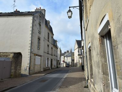 Photo for Spacious renovated accommodation with courtyard/terrace in the heart of Bayeux