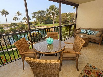 Photo for Gulf and Pool View, Two Bedroom Condo - Sand Pointe 212