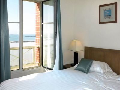 Photo for Apartment Reine Marine balcon mer T3 (ALO302) in Saint Malo - 6 persons, 2 bedrooms