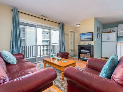 Photo for Sunset South is a nice  2BR, 1BA upgraded condo on 68th Street and oceanblock