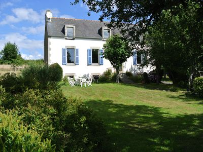 Photo for Charming house with garden. peaceful, Isolated South Brittany