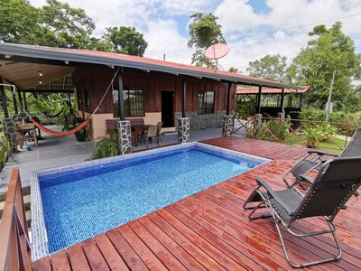 Photo for Arenal Rain Forest Cabin (1) - La Fortuna just 10 minutes away!